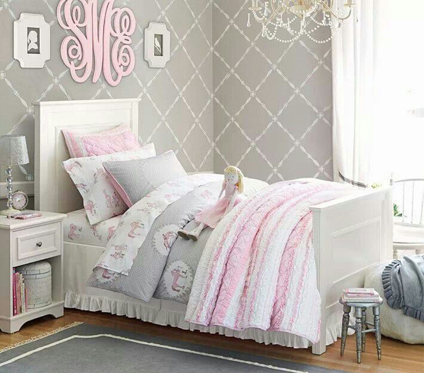 Bedroom Teenage Small Girls Room Purple Large Size: All Categories
